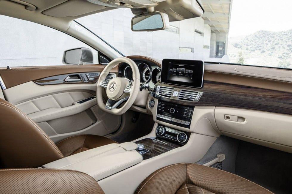 Mercedes Benz Cls Interior Photos Mercedes Benz Cls Luxury Car
