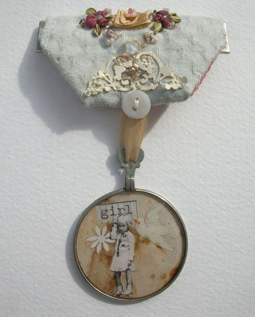 Claire A. Baker 's beautiful medals.
