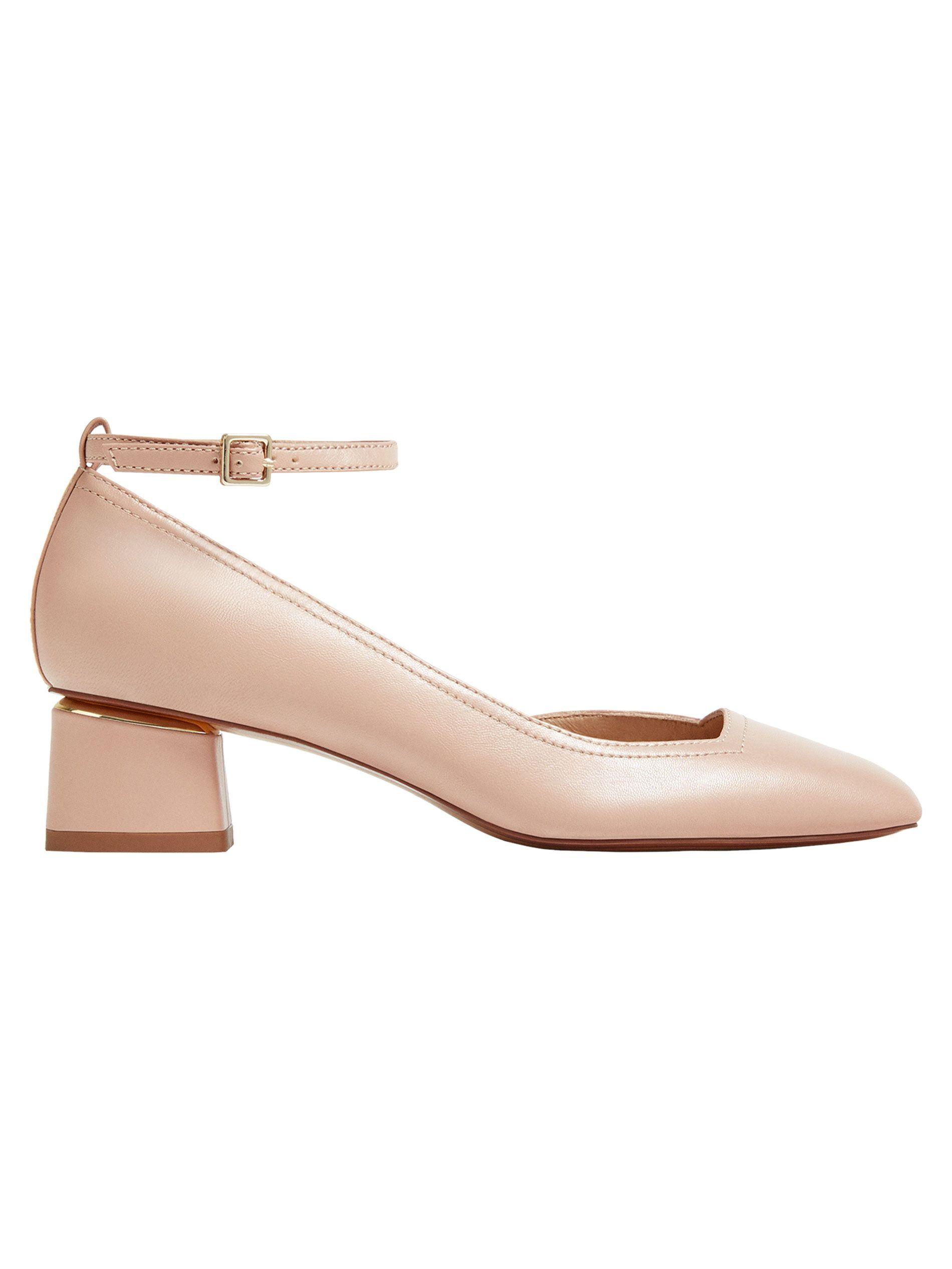Zapato Color Asimétrico Napa Cierre Salón En NudeDetalle De Piel uXTZiOPk