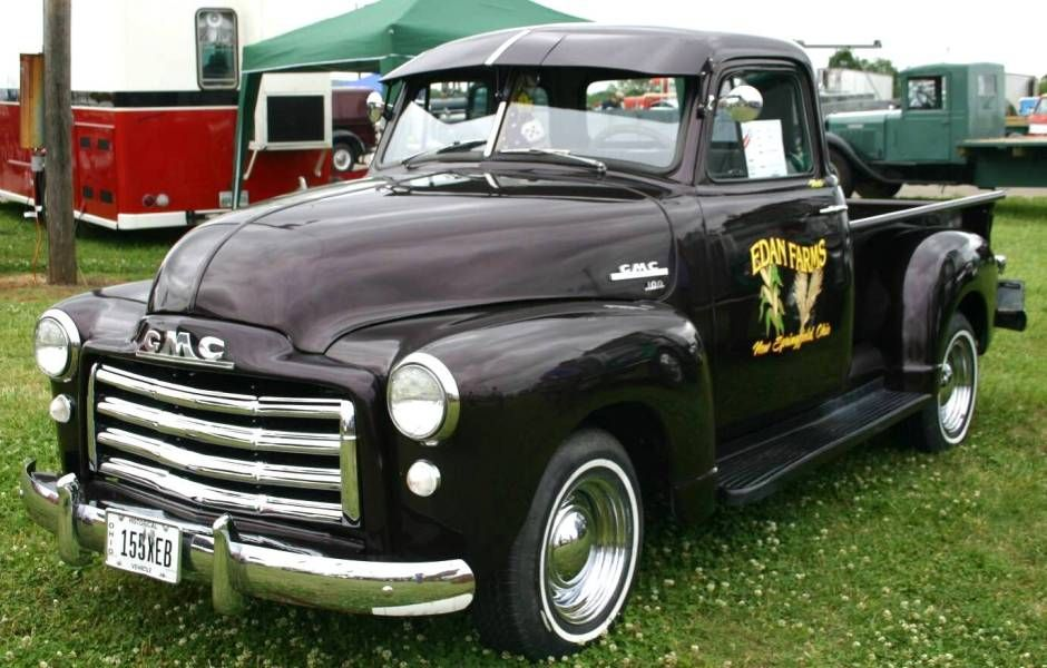 Vintage Cars Pictures Classic Trucks 1951 Gmc 100 Pickup With
