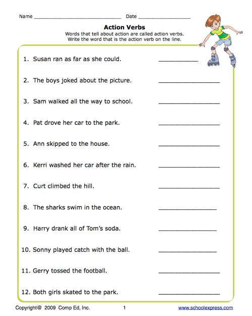 verb worksheets for 1st grade benderos printable math worksheets verb worksheets. Black Bedroom Furniture Sets. Home Design Ideas
