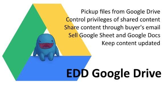 EDD Google Drive WordPress плагин