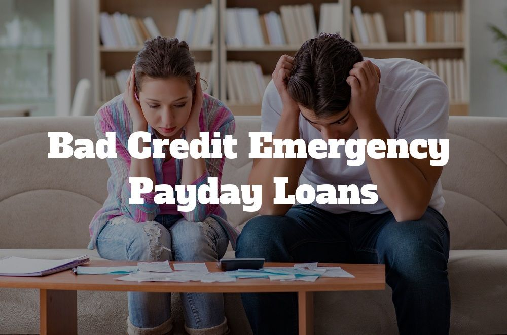 Bad credit emergency payday loans convenient loan option