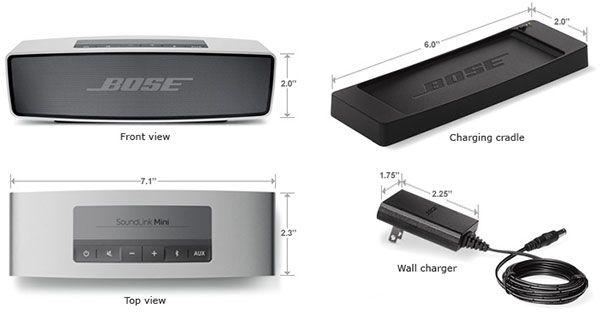 Enceinte Bose Soundlink Mini Ide Cadeau Moffrir