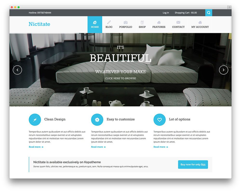 Pinnacle Free WordPress Theme #freebie #wordpress #theme #wp #design ...