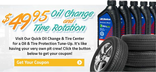 Get A 49 95 Oil Change Tire Rotation And Other Service Specials At Graff Durand Oil Change Acdelco Durand