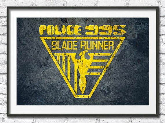 Blade Runner - Police 955 Poster by SciFiNow