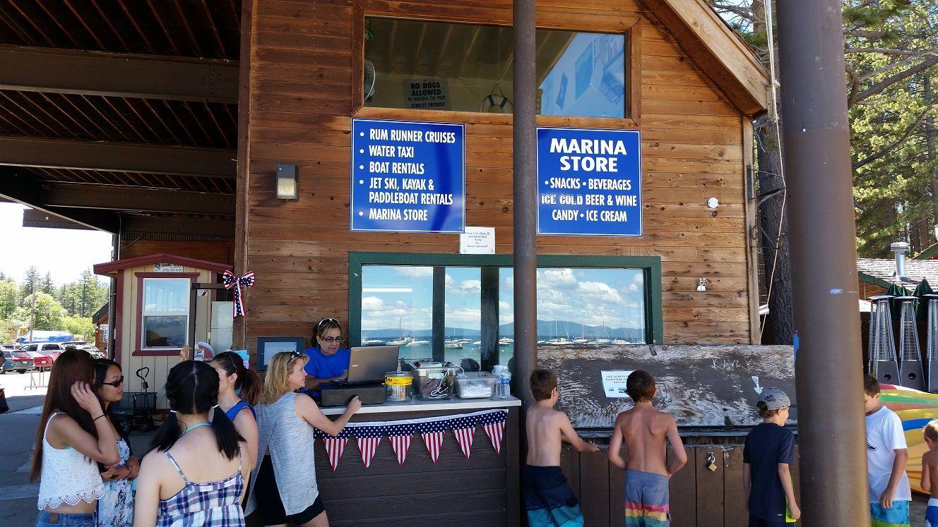 Camp richardson resort south lake tahoe beaches marina