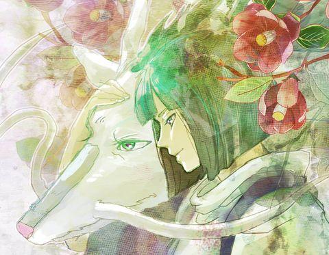 千と千尋 ハク 蒼跡のイラスト Studio Ghibli Fanart Studio Ghibli Studio Ghibli Art
