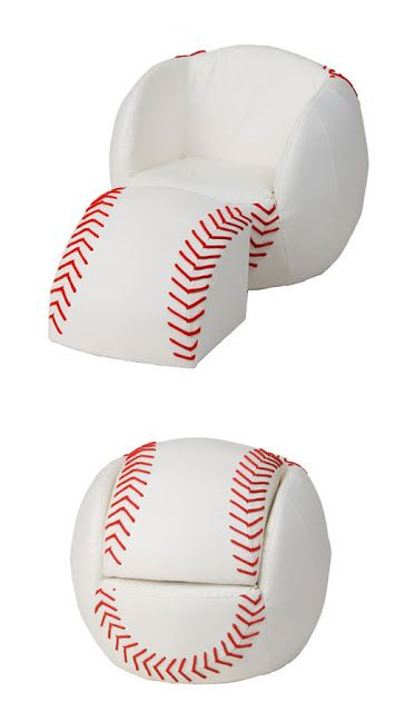 Kids Sports Chairs Pottery Barn Anywhere Chair Insert For Kid S Room Pinterest Baseball Design Dazzle