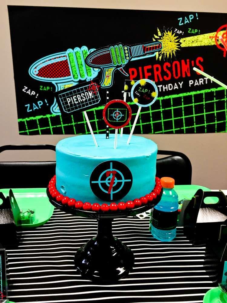 Laser Tag Birthday Party Ideas Laser tag birthday Laser tag party