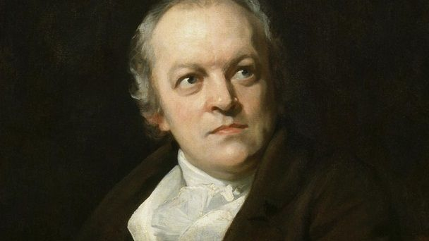 William Blake, author of Songs of Innocence and Experience. Portrait by Thomas Phillips © National Portrait Gallery, London.