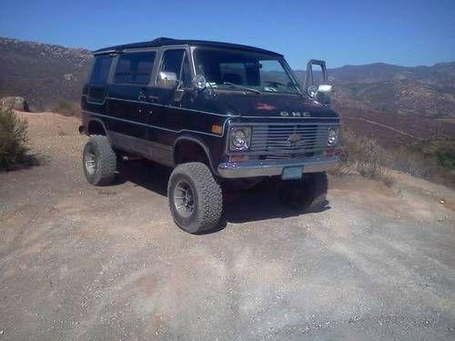 Tumblr Cool Vans Chevy Van 4x4 Van