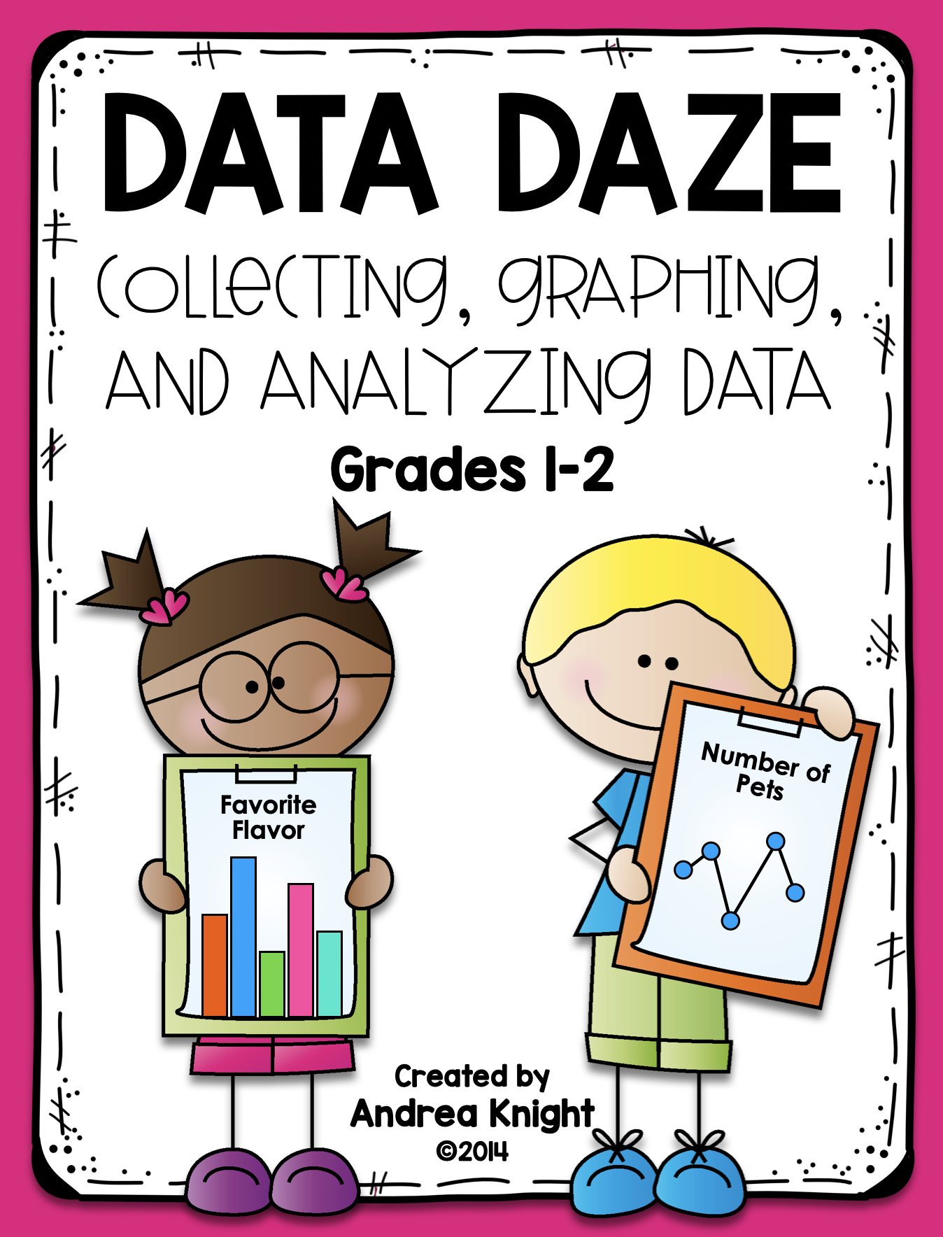 Graphing \u0026 Analyzing Data with Kids   Math worksheets [ 1768 x 1348 Pixel ]