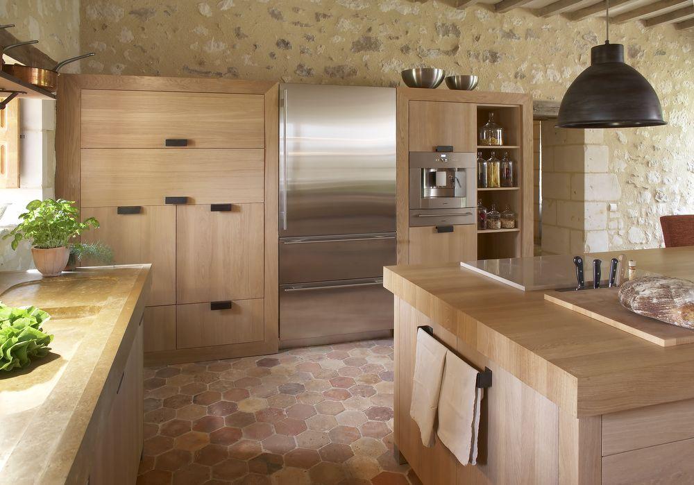 Xaviez vous présente la réalisation d\u0027une cuisine en chêne blé et