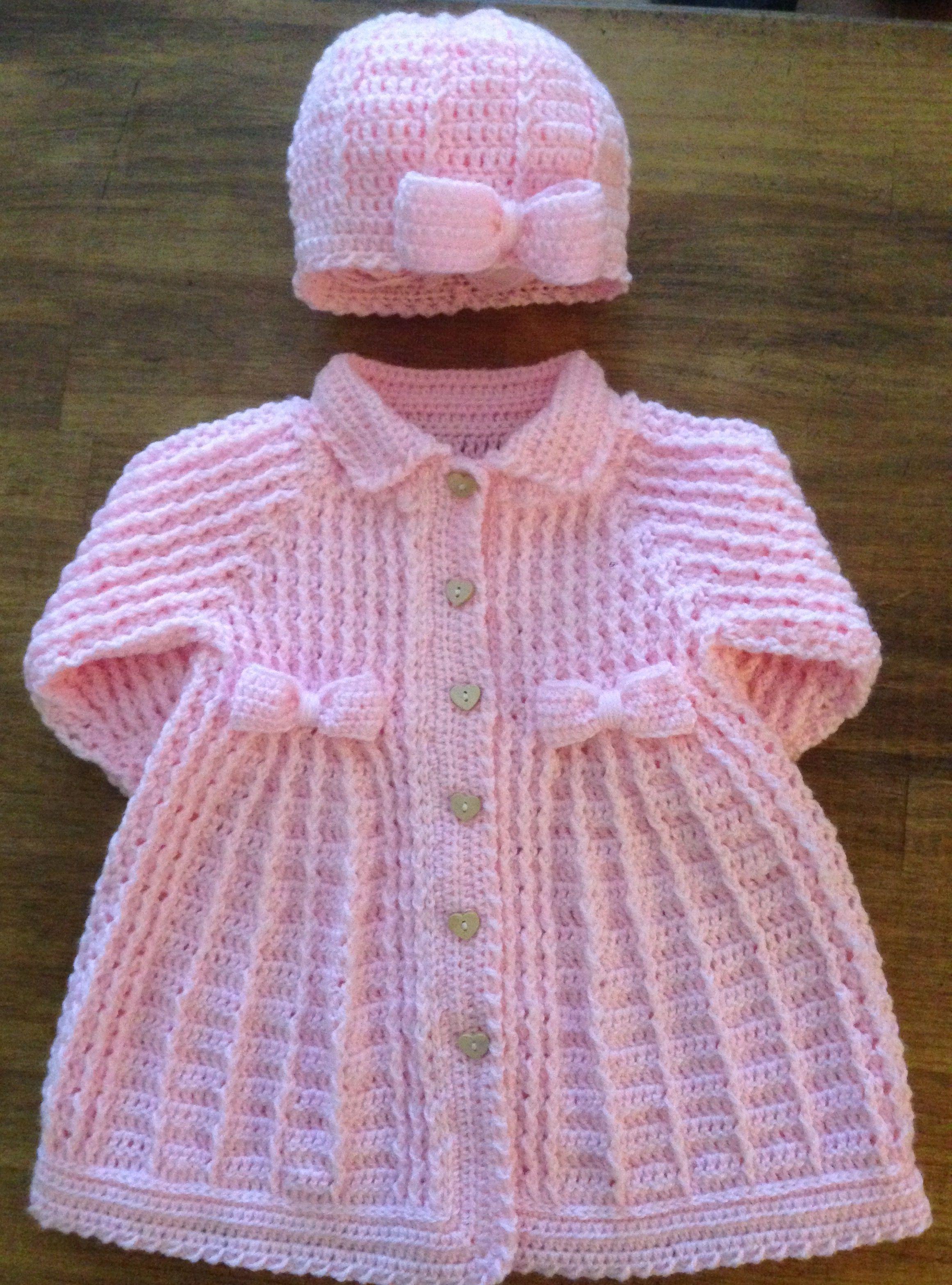 Sweet Petit Baby M/ädchen Strickjacke Shirley