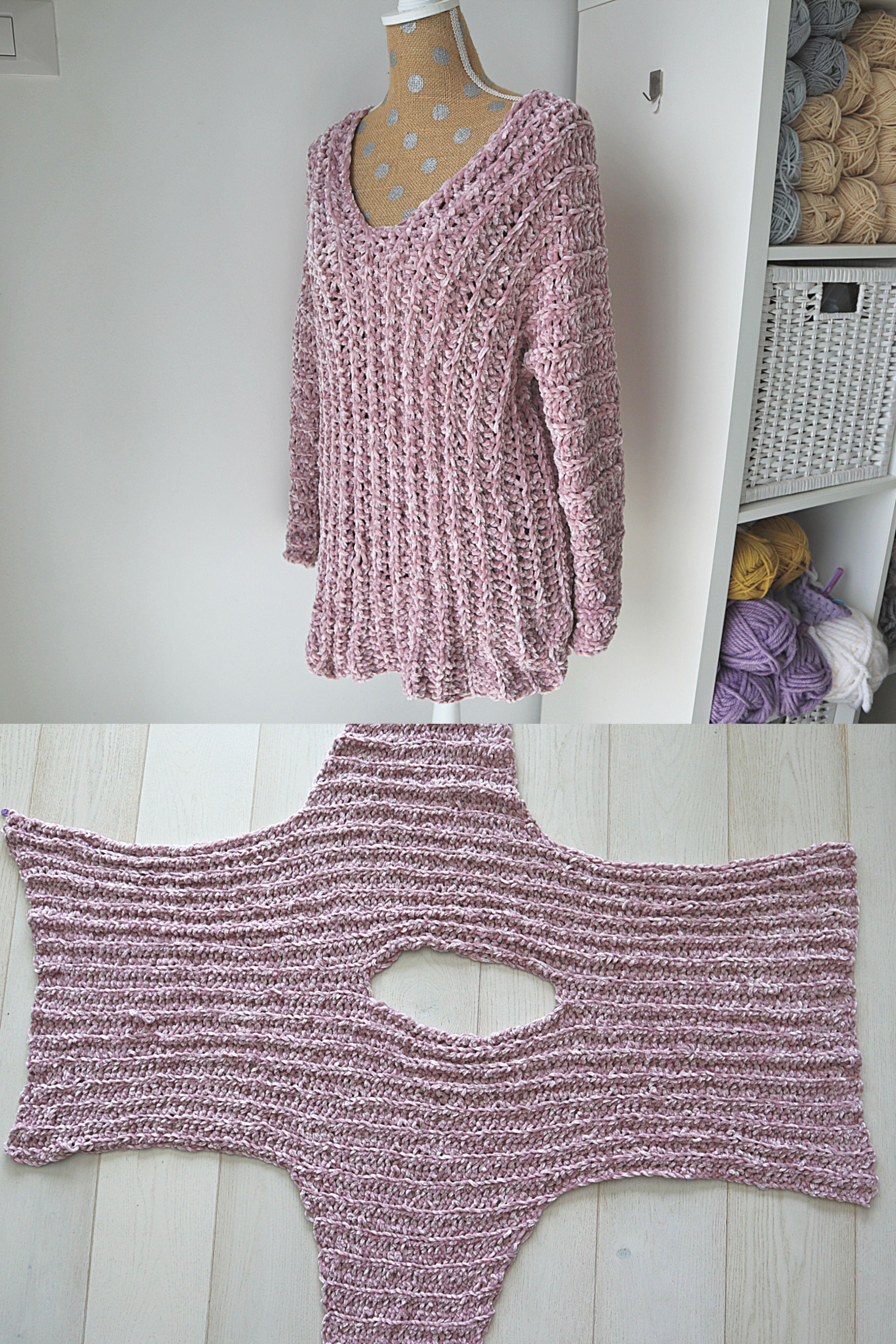Photo of Velvet Tunic – Crochet Pattern – Stricken ist so einfach wie 1, 2, 3 Das Stricke…