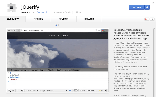 5 #Chrome #Extensions for #jQuery | Programming | Pinterest
