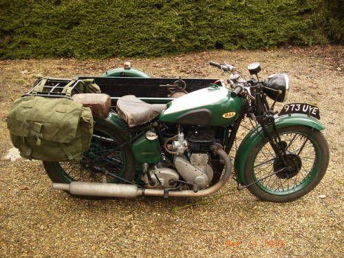 M21 Tradesman's Combination - 600cc. For Sale (1947)