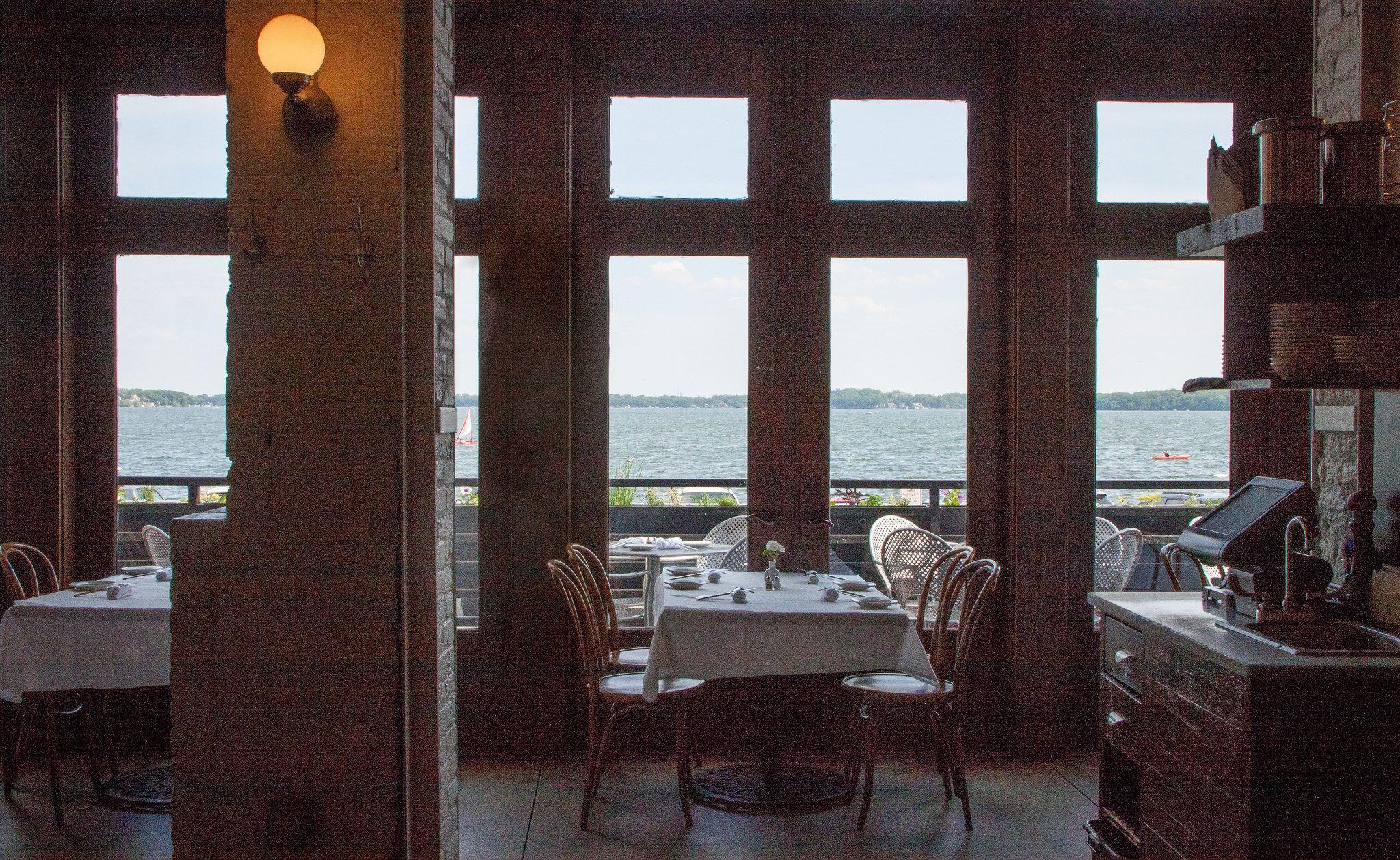 Sardine Restaurant Madison Wi Gorgeous View Of Lake
