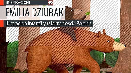 Ilustración infantil y talento de EMILIA DZIUBAK.  Ingenio y talento desde Polonia. Leer más: http://www.colectivobicicleta.com/2013/08/Ilustracion-de-EMILIA-DZIUBAK.html