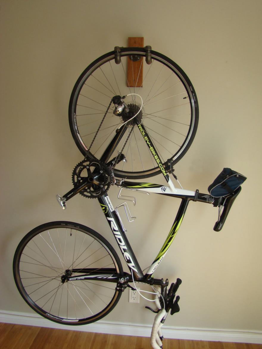 9 Ways To Store A Bike Indoors Indoor Bike Rack Hanging Bike