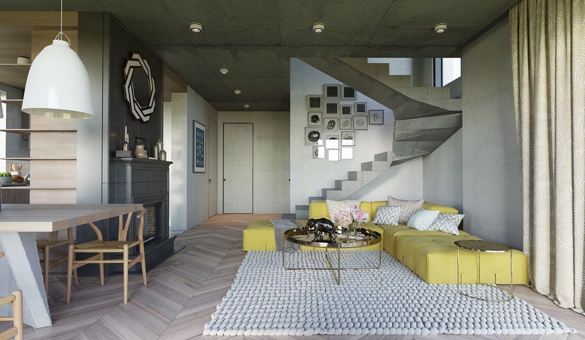 25 Wunderschöne Gelbe Akzent Wohnzimmer #akzent #gelbe #wohnzimmer  #wohnzimmerideen #wunderschone