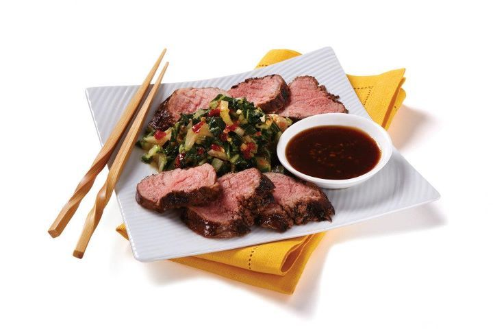 US Foods    Korean BBQ is on the rise this year, known for its savory, smoky-sweet flavors. Baste your pork tenderloin with our new line of Korean Barbecue Sauce from our International Grilling Sauces line. #Food #Restaurant