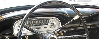 How about that dash! 1961 Ford Falcon