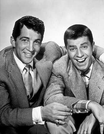 Dean Martin and Jerry Lewis, 1956.
