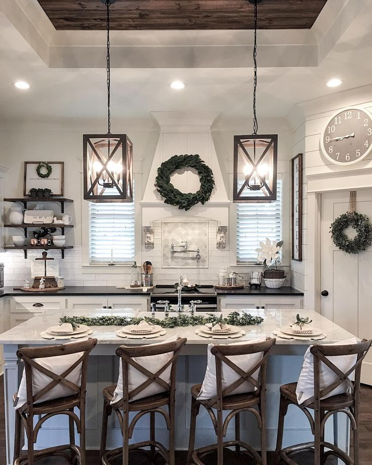 The of our home kitchen when we were designing plans my must haves was open space an island big enough for all us  also rh pinterest