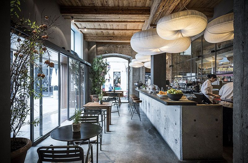 Restaurant Gats Barcelona : The awesome interiors of new gats restaurant in barcelona⟫ ◾ Фото