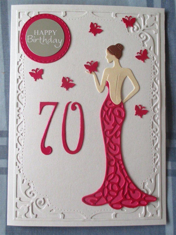 70th Birthday 70th Birthday Card 60th Birthday Cards Handmade Birthday Cards