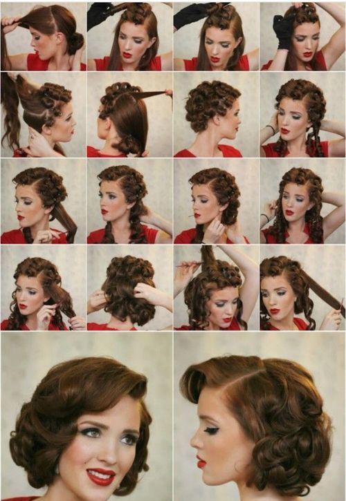 Причёска стиляги женская фото