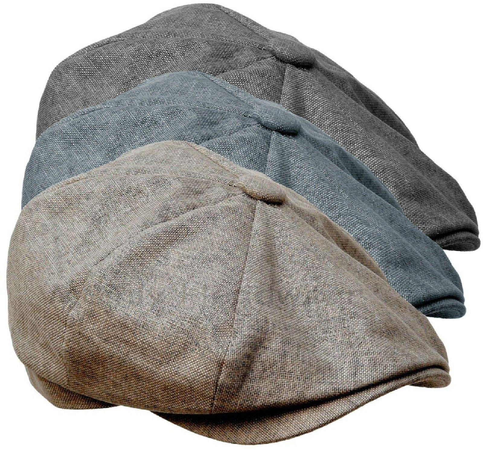 Cotton linensboy cap gatsby men 84 ivy hat golf driving