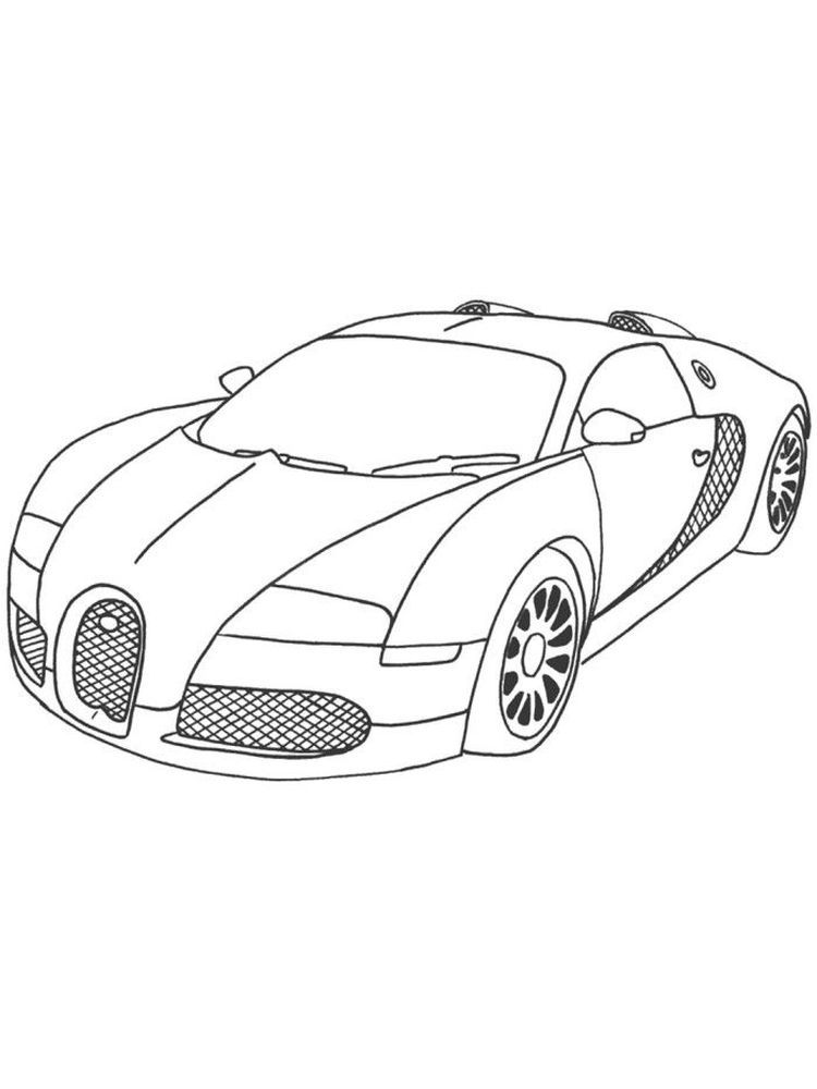 Bugatti Coloring Pages Print Bugatti Is An Automotive Company That Produces Cars With Extraordinary Capabi Cars Coloring Pages Bugatti Race Car Coloring Pages