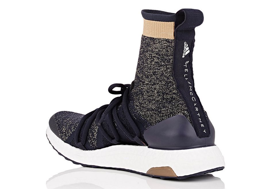 separation shoes b9dd0 d702f The Stella McCartney adidas Ultra Boost X High is available today from  Barney s New York for  250 USD featuring a unique new ankle collar. Details  here