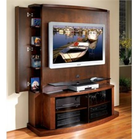 Jsp Furniture Flat Panel Screen Tv Stand With Back Tango