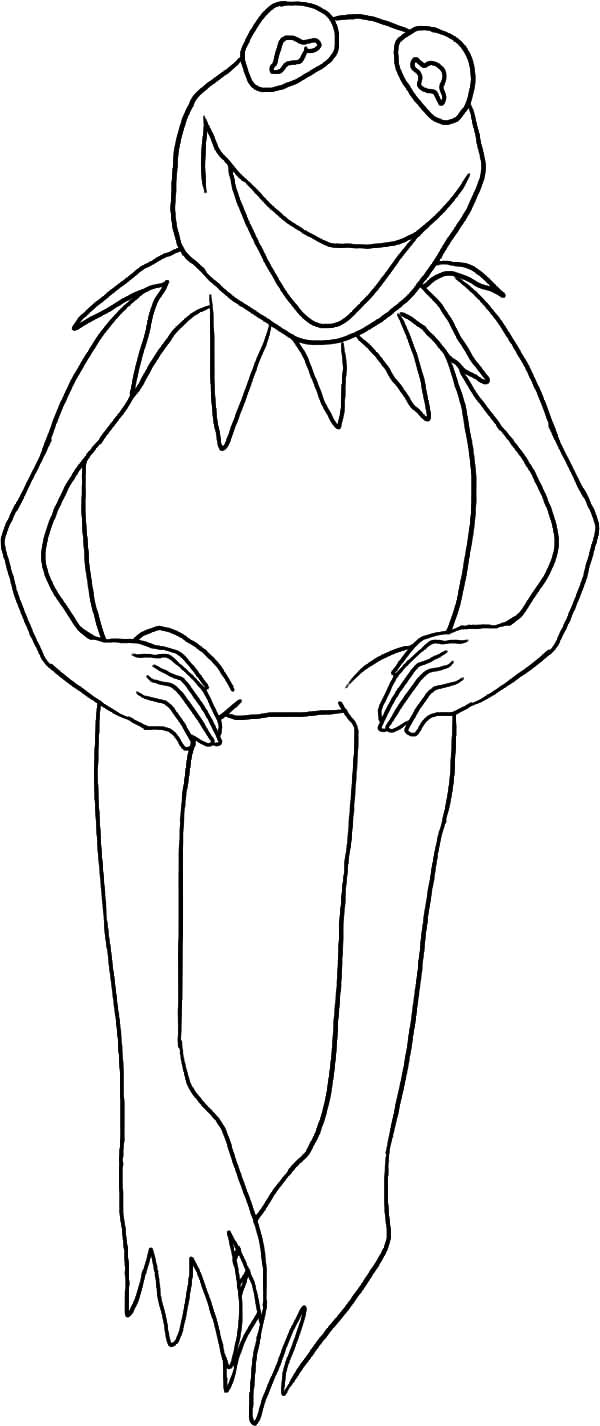 Pin On Kermit The Frog Coloring Pages