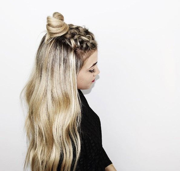 Quick And Easy Half Up Half Down Hairstyles Hair Styles Long Hair Styles Simple Prom Hair