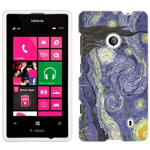 Nokia Lumia 521 Van Gogh Starry Night Phone Case Cover by TrekCovers, http://www.amazon.com/dp/B00D8HBZ2O/ref=cm_sw_r_pi_dp_wnMasb1ZDXK88