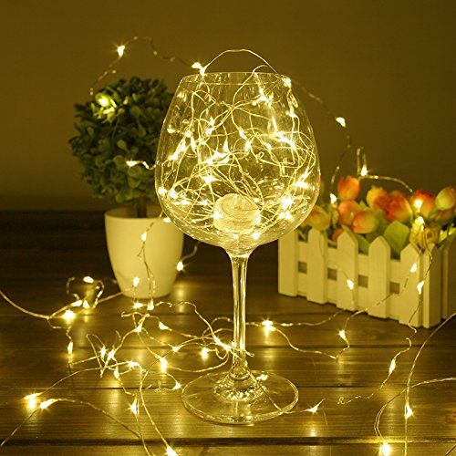 christmas lights bhclight led string battery operated starry copper wire waterproof dcor rope lights for seasonal