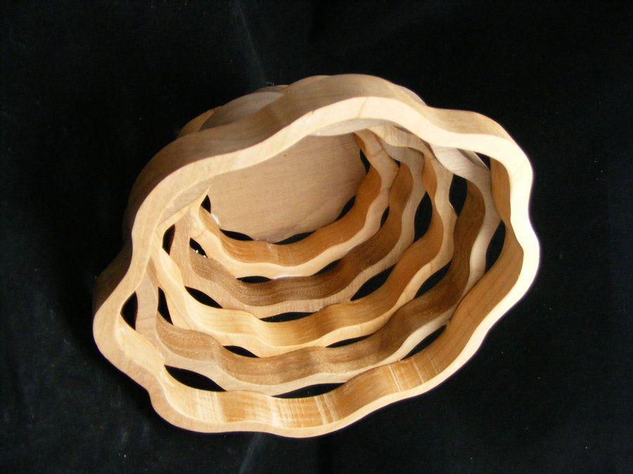 scroll saw bowls