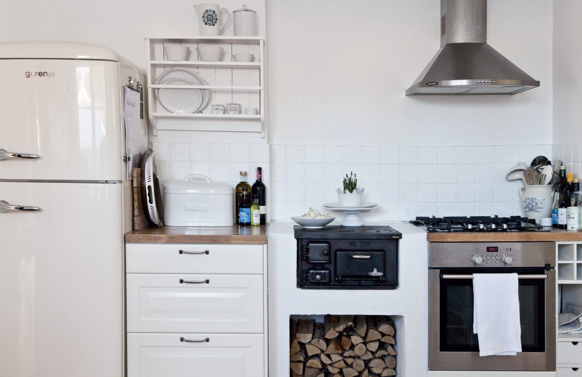 50 cucine piccole idee realizzare cucina piccola ad angolo moderna ...
