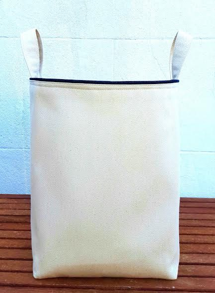 Laundry Bags With Handles Pleasing Denim Laundry Bag Large Extra Sturdy Hampervintagefromchris Design Ideas