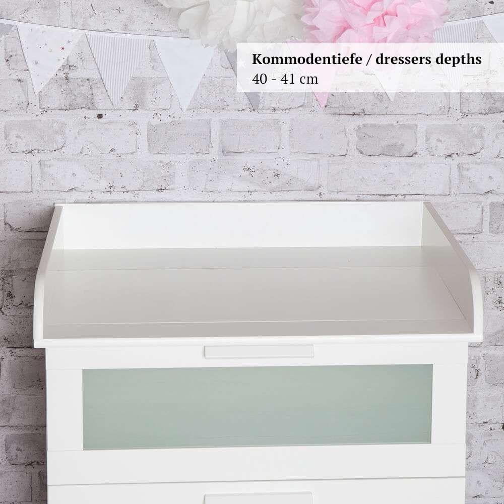 Ikea Kommode Brimnes Wickelaufsatz