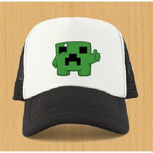 5cc94857c40 Minecraft Men Fashion Baseball Hat - 5 - Blue Products- - TopBuy.com ...