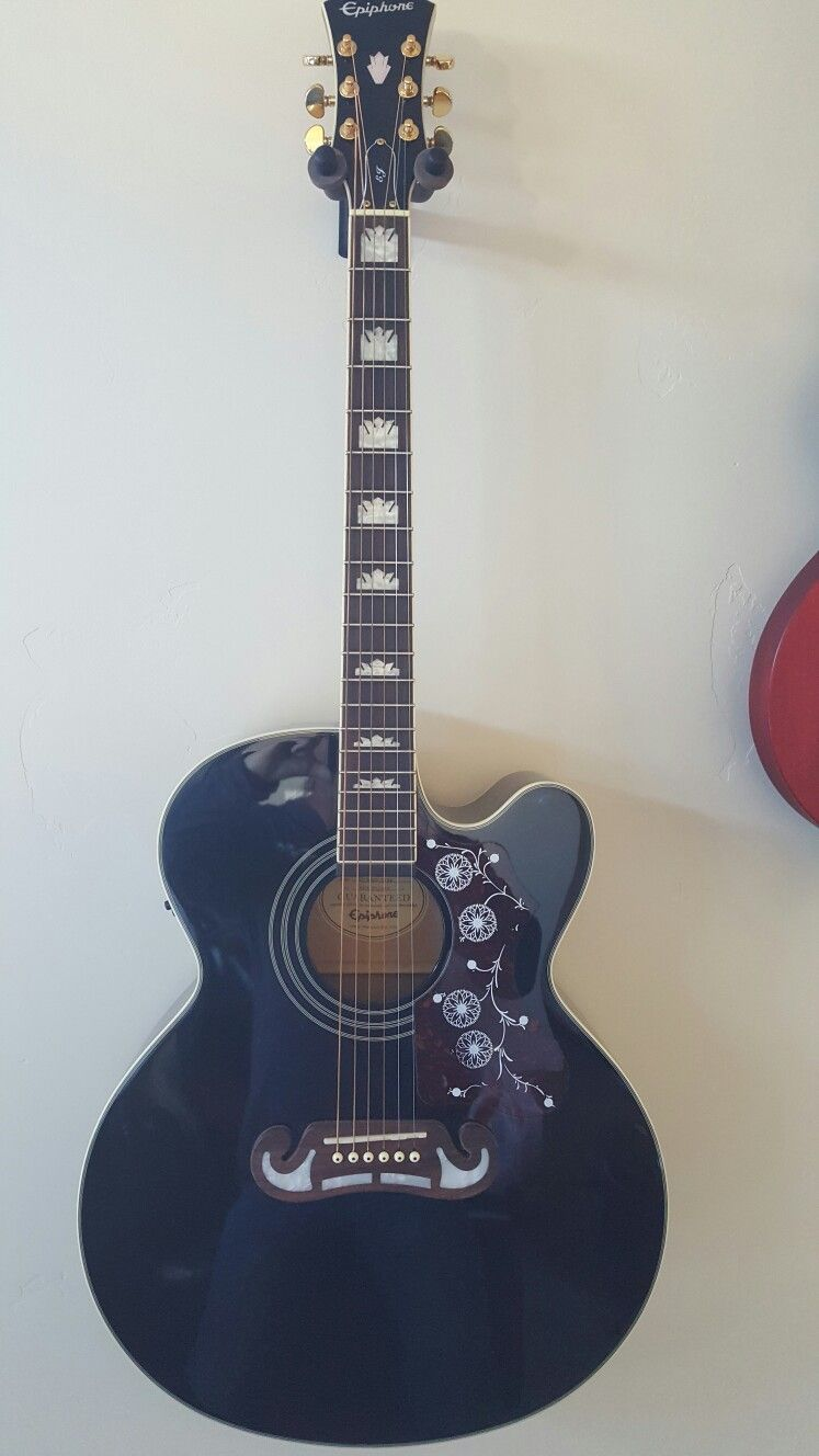 My Epi Acoustic I Play It Every Day Guitar Acoustic Music
