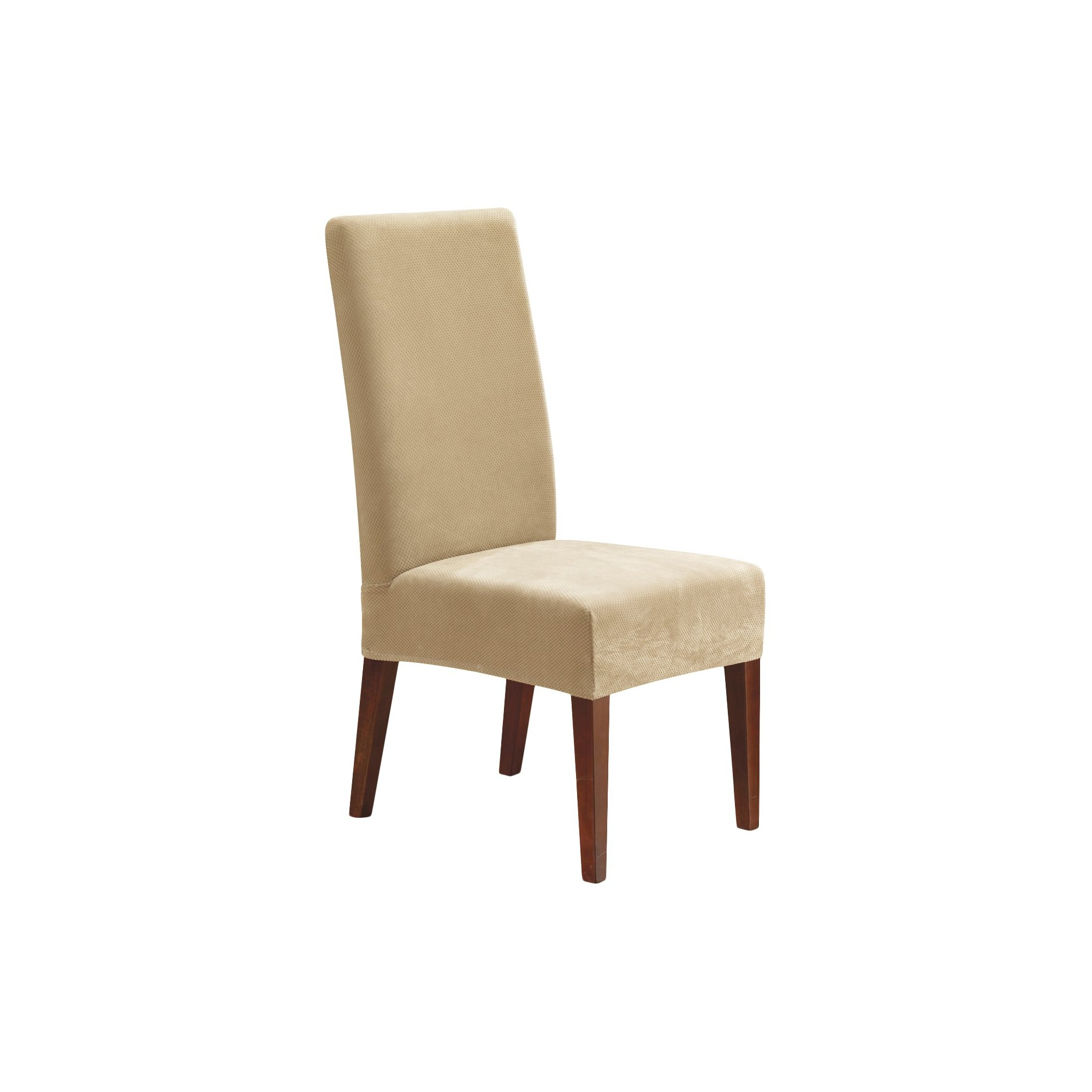 Stretch Pique Short Dining Chair