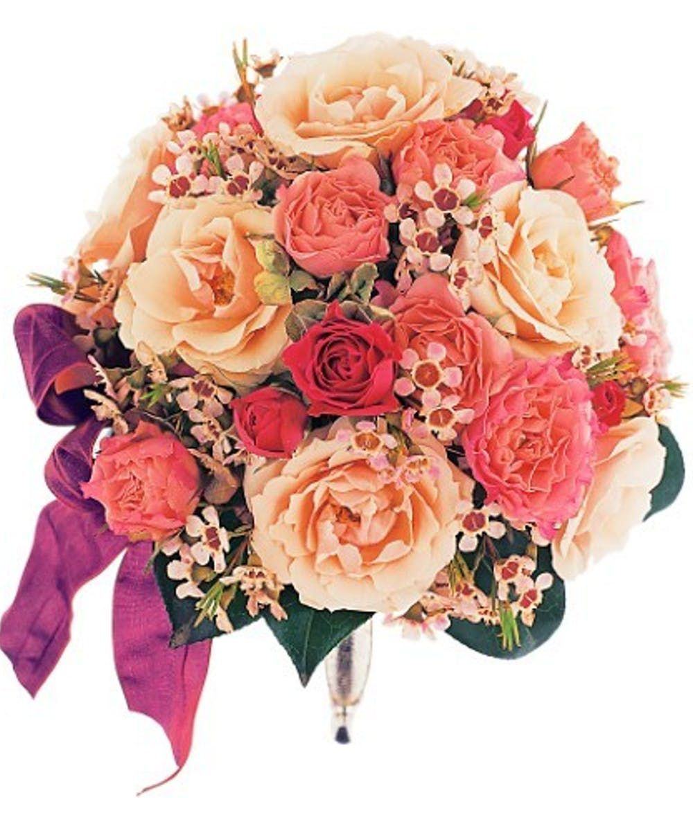 Pink and Lavender Nosegay in 2020 Wedding flowers, Pink